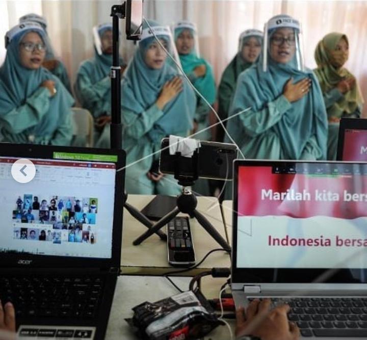 Wisuda daring-Cybernewsnasional.com