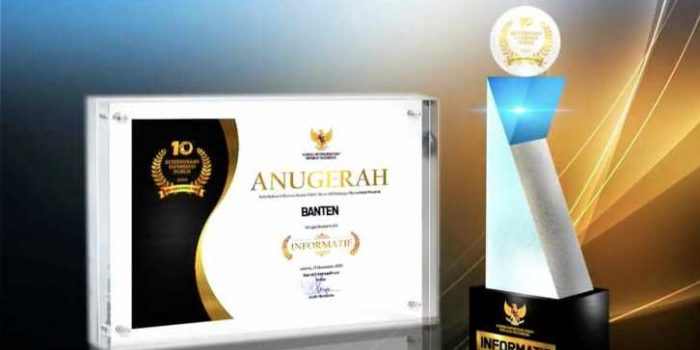 Provinsi Banten Raih Kategori Informatif