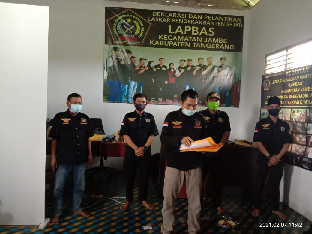 DPAC LAPBAS Jambe Akan Buka Laporan Ke Kejarı Tıgaraksa Terkait BLT DD Taban Anggaran Tahun 2020